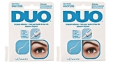 2 pack ARDELL - das Original - DUO Lash Adhesive 25 oz Clear -
